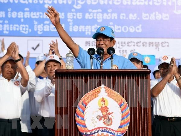 Vietnam felicita a Samdech Hun Sen por su designacion como primer ministro de Camboya hinh anh 1