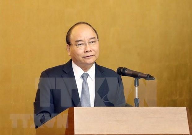 Premier vietnamita asiste a la presentacion de la red de innovacion hinh anh 1