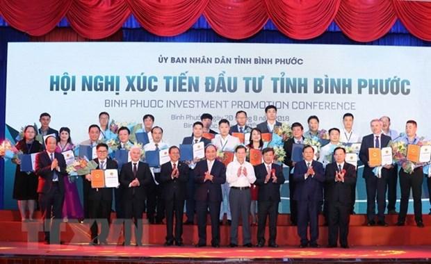 Provincia Binh Phuoc debe duplicar numero de empresas, indica premier de Vietnam hinh anh 1