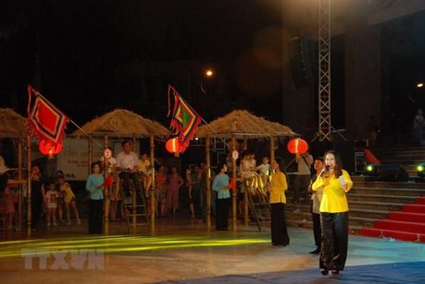 Provincia vietnamita preserva canto popular Bai Choi, Patromonio Cultural hinh anh 1