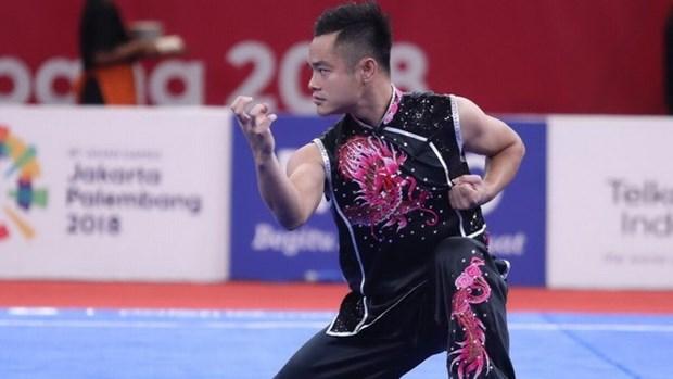 ASIAD 18: Vietnam gano dos medallas en Wushu hinh anh 1