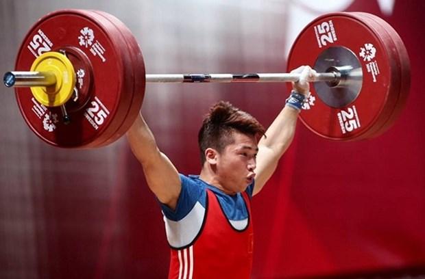 Halterofilo vietnamita obtiene medalla de plata en ASIAD 2018 hinh anh 1