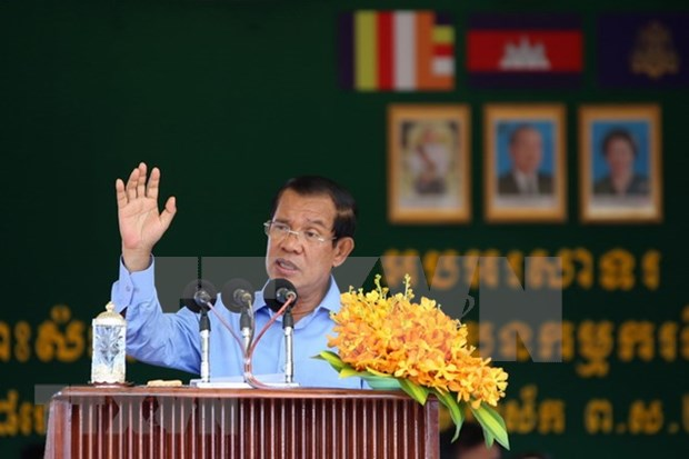 Premier de Camboya se reune con lideres de partidos politicos despues de ganar elecciones hinh anh 1