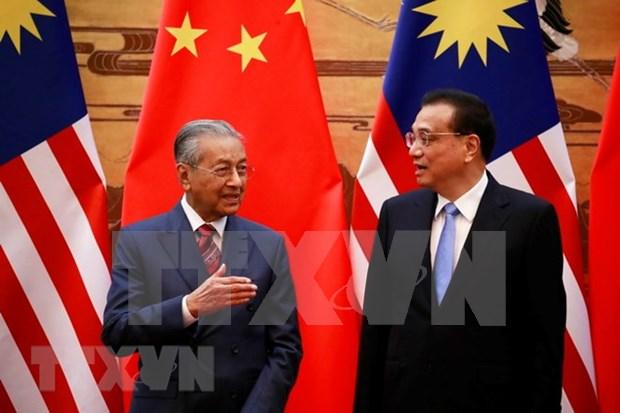 Malasia cancela importantes proyectos de infraestructura con China hinh anh 1