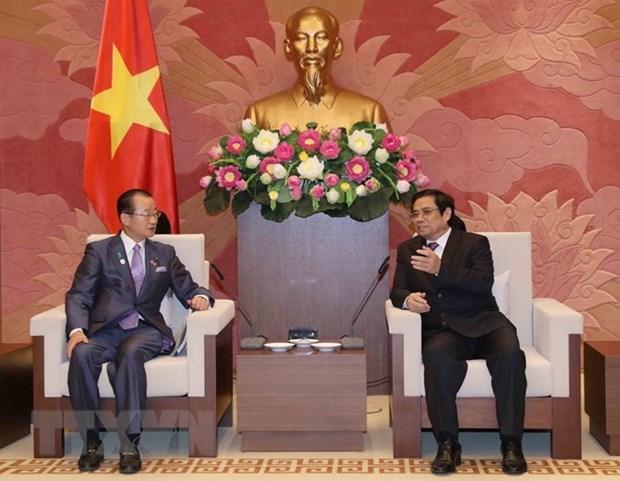 Fomentan nexos parlamentarios entre Vietnam y Japon hinh anh 1