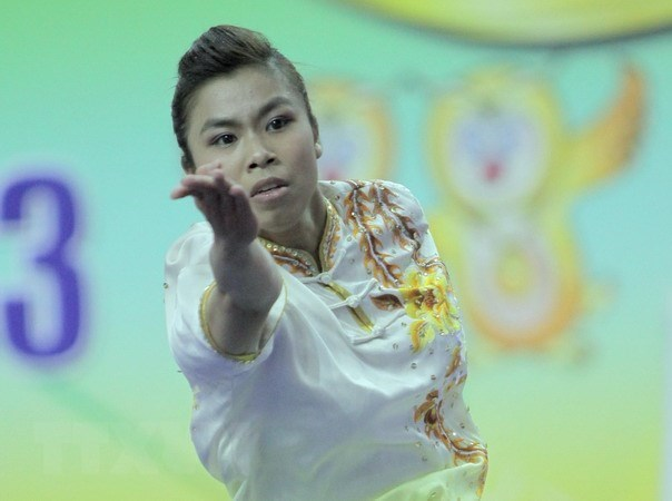 ASIAD 2018: Vietnam cosecha otra medalla en wushu hinh anh 1
