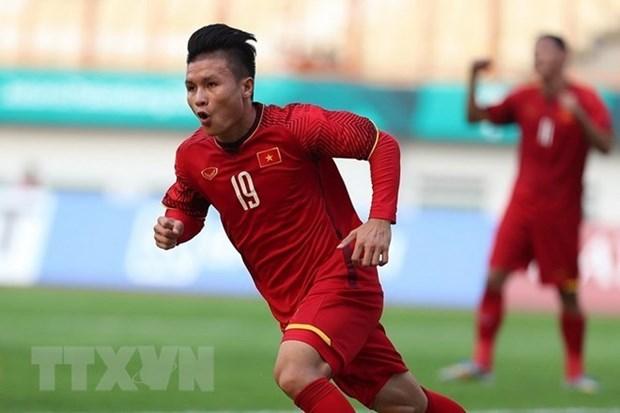 Prensa sudcoreana pronostica victorias para equipo de futbol vietnamita en ASIAD 2018 hinh anh 1