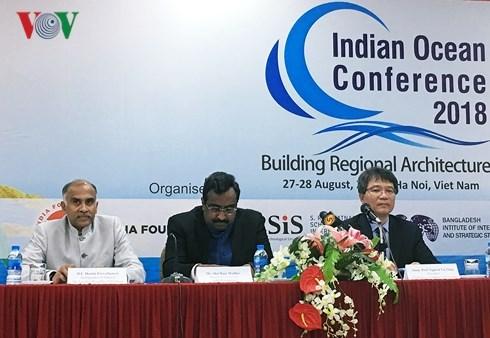 Seminario oceano Indico en Hanoi coadyuvara a agilizar lazos estrategicos en la zona hinh anh 1