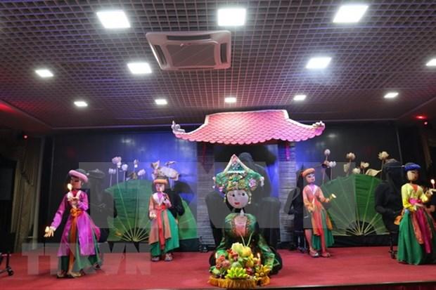 Espectaculos de marionetas de Vietnam transmiten valores culturales a connacionales en Rusia hinh anh 1