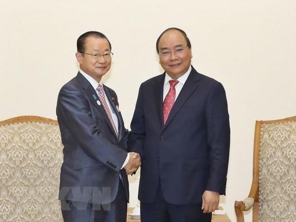Premier vietnamita aprecia asistencia oficial para el desarrollo de Japon a su pais hinh anh 1