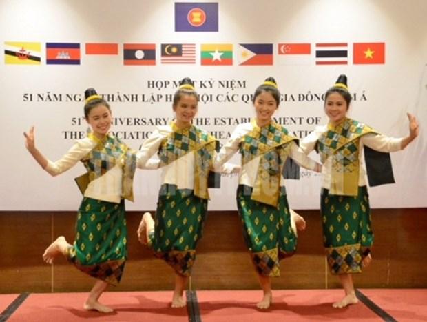 Encuentro en Ciudad Ho Chi Minh por aniversario 51 de la ASEAN hinh anh 1