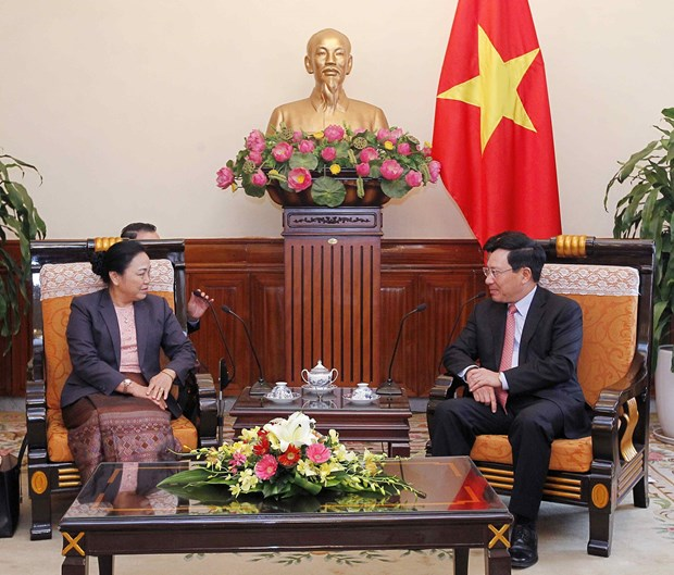 Vietnam y Laos corroboran nexos bilaterales hinh anh 1