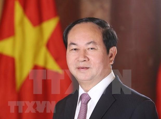 Presidente de Vietnam viaja a Etiopia para una visita estatal hinh anh 1