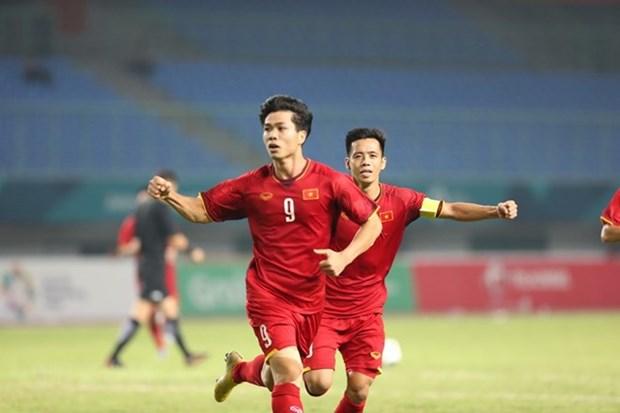 Prensa asiatica destaca victoria de seleccion de futbol de Vietnam ante Bahrein hinh anh 1