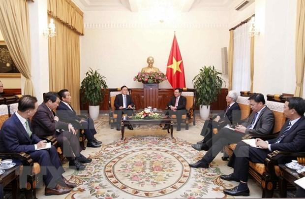 Vicepremier vietnamita destaca el desarrollo de asociacion de cooperacion estrategica con Corea del Sur hinh anh 1