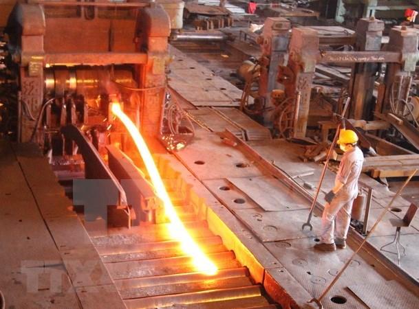 Exportacion de productos siderurgicos de Vietnam alcanza 2,53 mil millones de dolares hinh anh 1