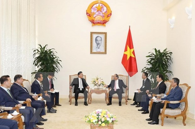 Premier de Vietnam propone mayor cooperacion entre empresas de su pais y Corea del Sur hinh anh 1