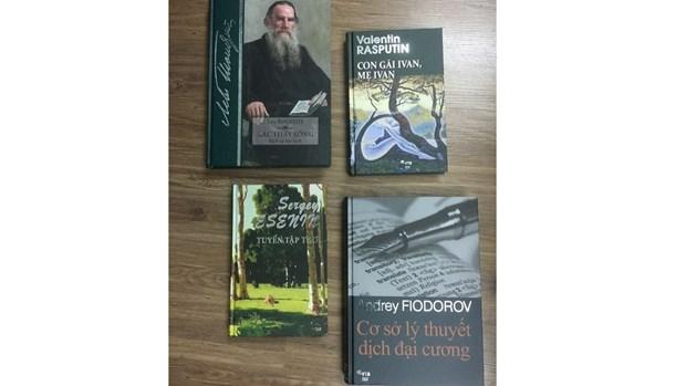 Publican version vietnamita de obras literarias rusas hinh anh 1