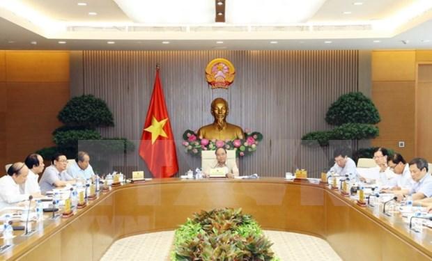 Premier vietnamita firma resolucion para remover dificultades en inversion hinh anh 1