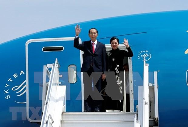 Primera dama de Vietnam visita a mujeres que padecen fistula obstetrica en Etiopia hinh anh 1