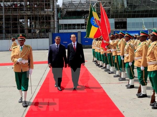 Relaciones Vietnam-Etiopia alcanzan nueva altura hinh anh 1