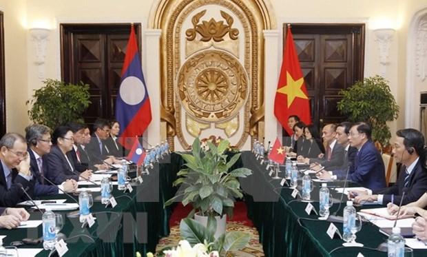 Vietnam y Laos efectuan tercera consulta politica hinh anh 1