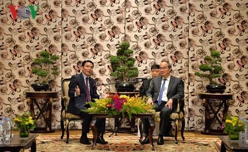 Ciudad Ho Chi Minh robustece cooperacion con Laos hinh anh 1