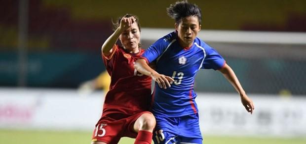 Seleccion femenina de Vietnam queda eliminada en cuartos de final en Juegos Asiaticos hinh anh 1