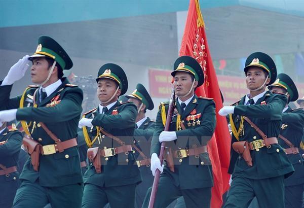 Fuerzas guardafronteras de seis paises se reunen en Vietnam hinh anh 1