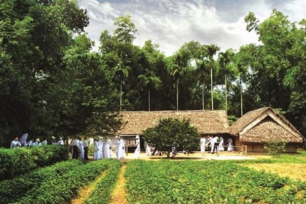Preservan sitio dedicado a Presidente Ho Chi Minh en su pueblo natal hinh anh 1