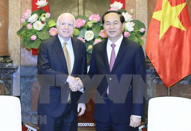 Senador McCain tiene posicion especial en la historia de nexos Vietnam – EE.UU., afirma embajador hinh anh 1