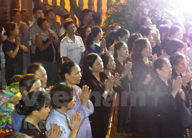 Celebran gran misa por victimas mortales en accidentes de trafico hinh anh 1