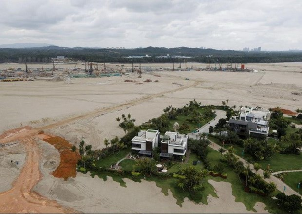 Malasia prohibe a los extranjeros comprar unidades residenciales en proyecto Forest City hinh anh 1