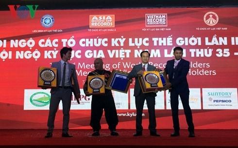 Vietnam obtiene cuatro nuevos records mundiales hinh anh 1