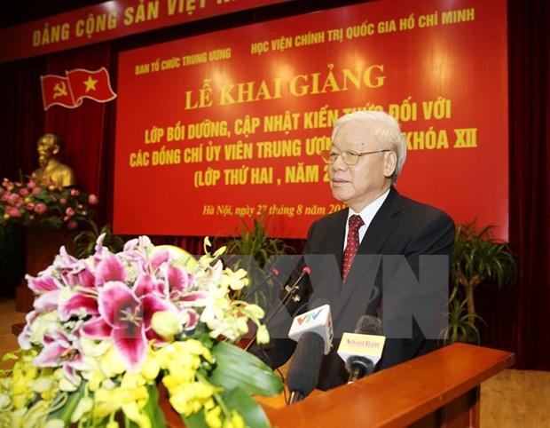 Partido Comunista de Vietnam perfecciona capacidad de militantes hinh anh 1