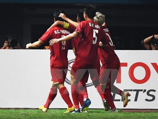 Medios de prensa asiaticos destacan desempeno de seleccion olimpica de futbol de Vietnam hinh anh 1