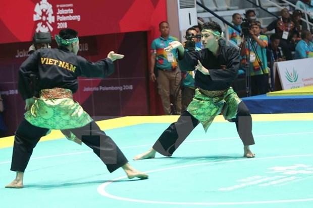 Pencak Silat y Karate de Vietnam no pudieron hacer realidad el sueno de oro hinh anh 1