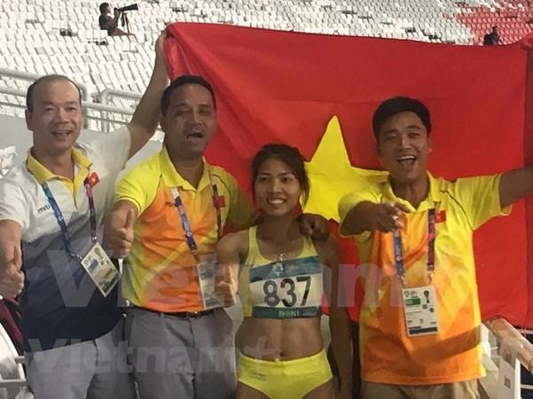Vietnam obtiene segunda medalla de oro en Juegos Asiaticos hinh anh 1