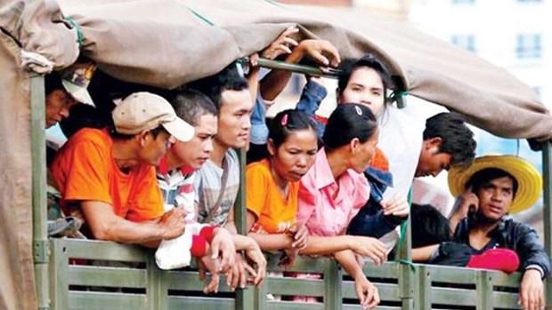 Tailandia arresta a mas de mil trabajadores inmigrantes ilegales hinh anh 1