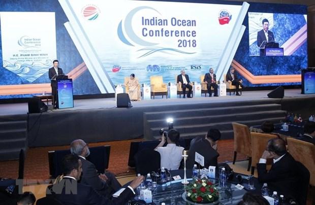Concluye tercera Conferencia del Oceano Indico en Hanoi hinh anh 1