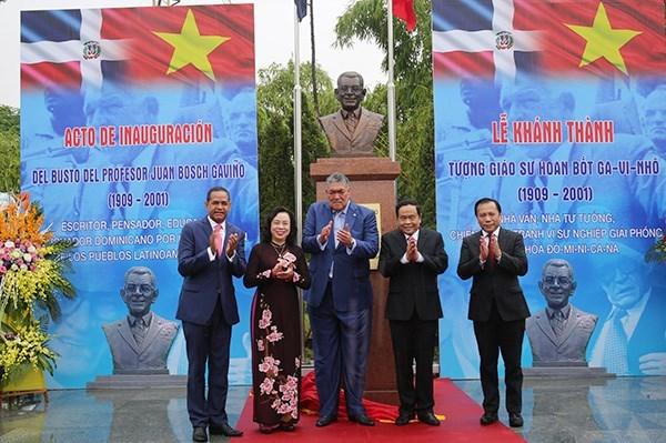 Fomentan relaciones partidistas entre Vietnam y Dominicana hinh anh 1