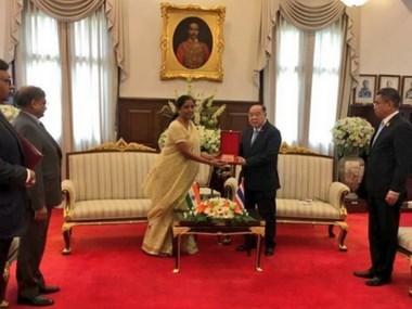 India y Tailandia buscan intensificar la cooperacion en defensa hinh anh 1
