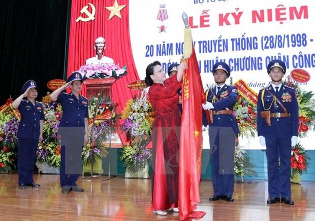 Presidenta del Parlamento de Vietnam subraya necesidad de renovacion de la guardia costera hinh anh 1
