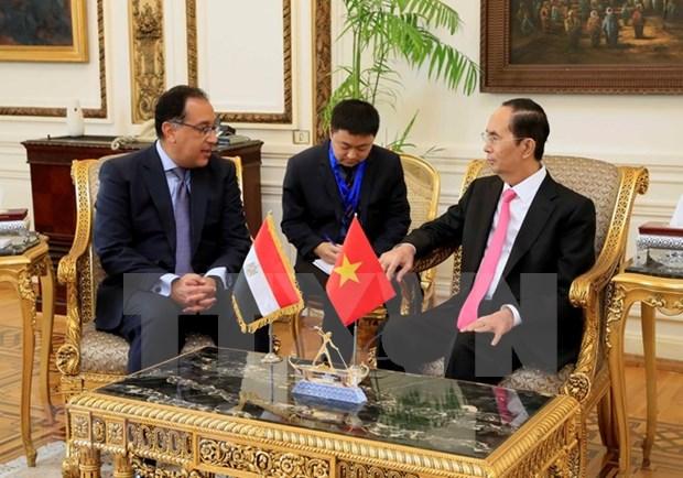 Egipto dispuesto a favorecer inversion y negocios de empresas vietnamitas hinh anh 1