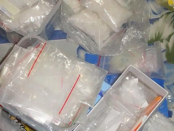 Detienen en Vietnam a un traficante con gran carga de ketamina hinh anh 1