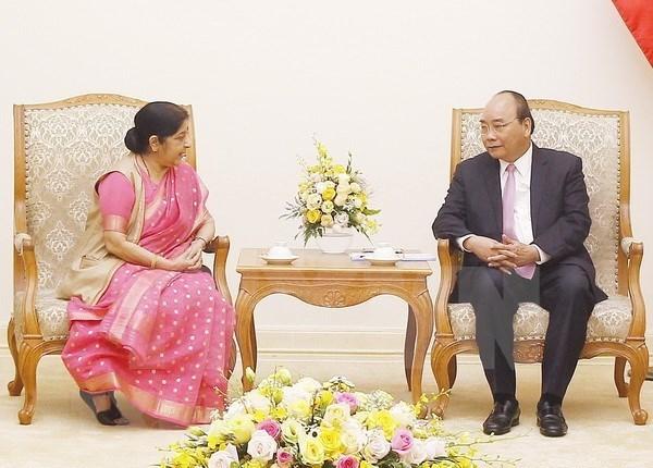 Premier vietnamita resalta potencialidades de expandir relaciones con la India hinh anh 1