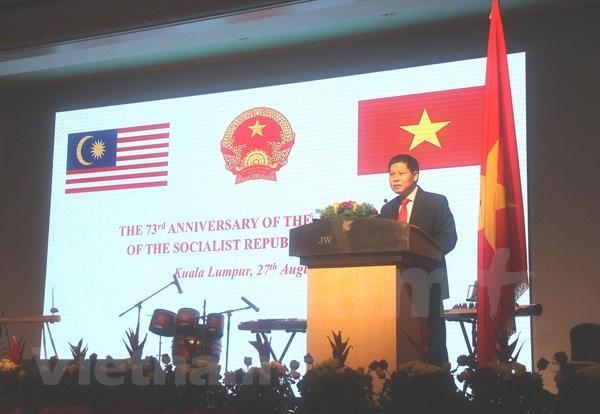 Comunidad vietnamita en Malasia celebra Dia de la Independencia de su pais hinh anh 1