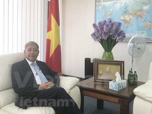 """Relaciones con Israel estan en """"periodo dorado"""", afirmo embajador de Vietnam hinh anh 1"""