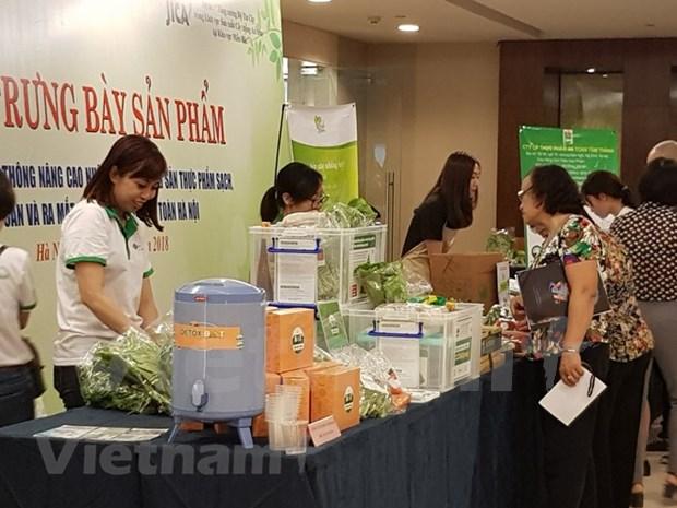Hanoi lanza un sitio web sobre productos agricolas seguros hinh anh 1