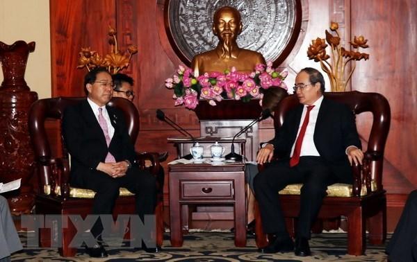 Ciudad Ho Chi Minh respalda cooperacion con prefectura japonesa hinh anh 1
